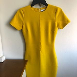 LIKELY yellow mini dress
